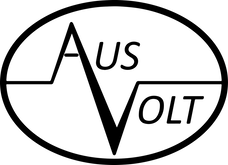 Ausvolt Black Oval Transparent